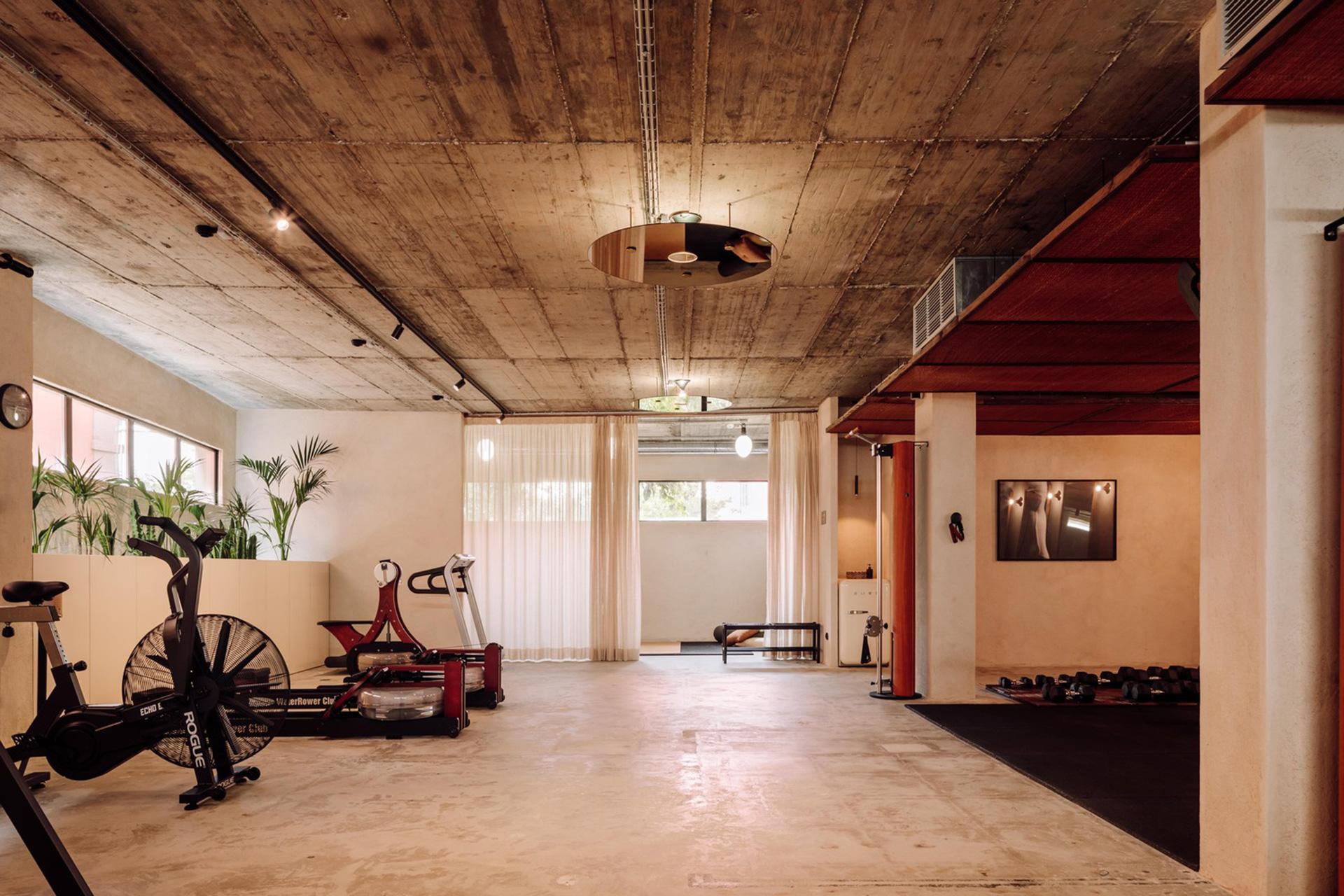Фитнес-клуб дизайн фото