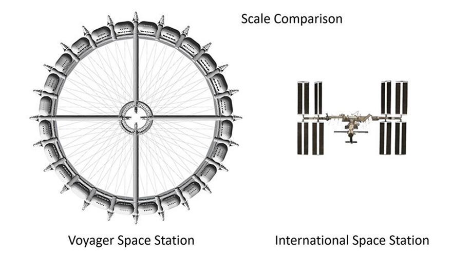 космический отель фото