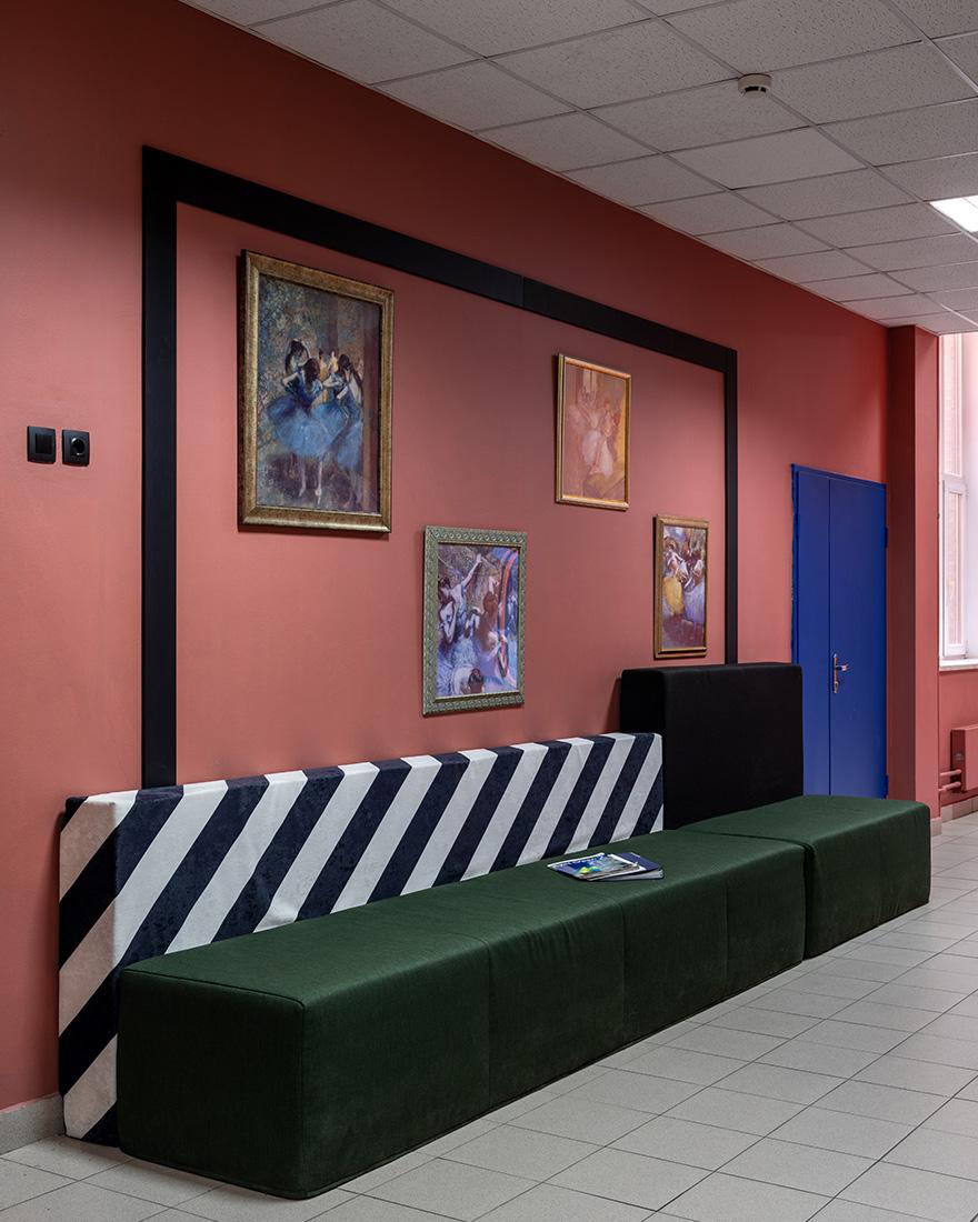 Дизайн московских школ фото