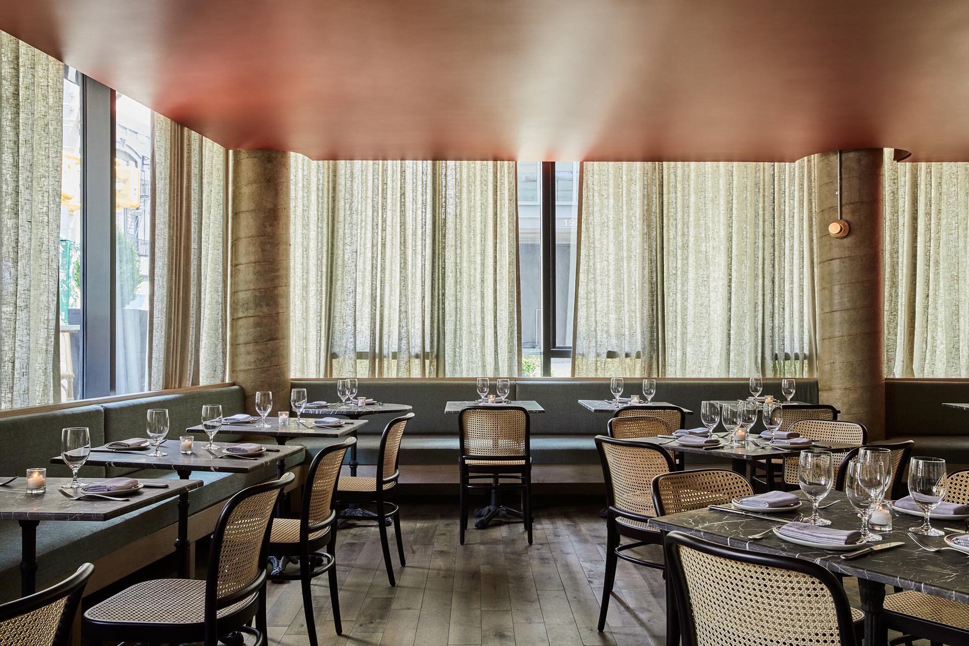 Рестораны в Нью-Йорке фото
