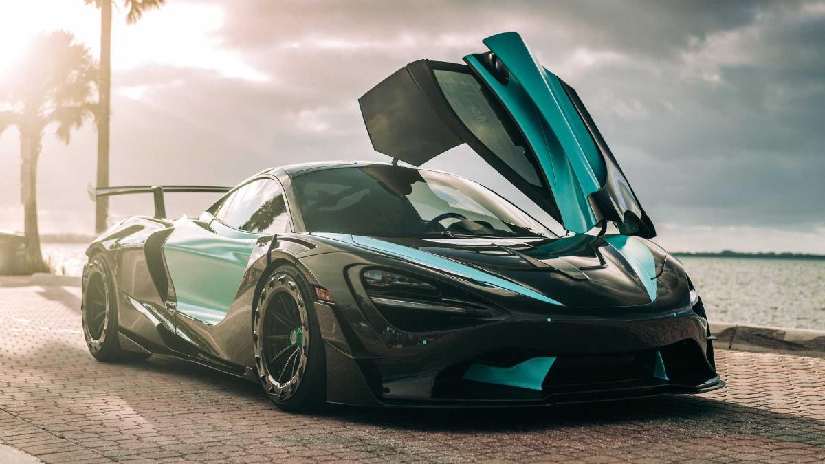 McLaren 720 фото