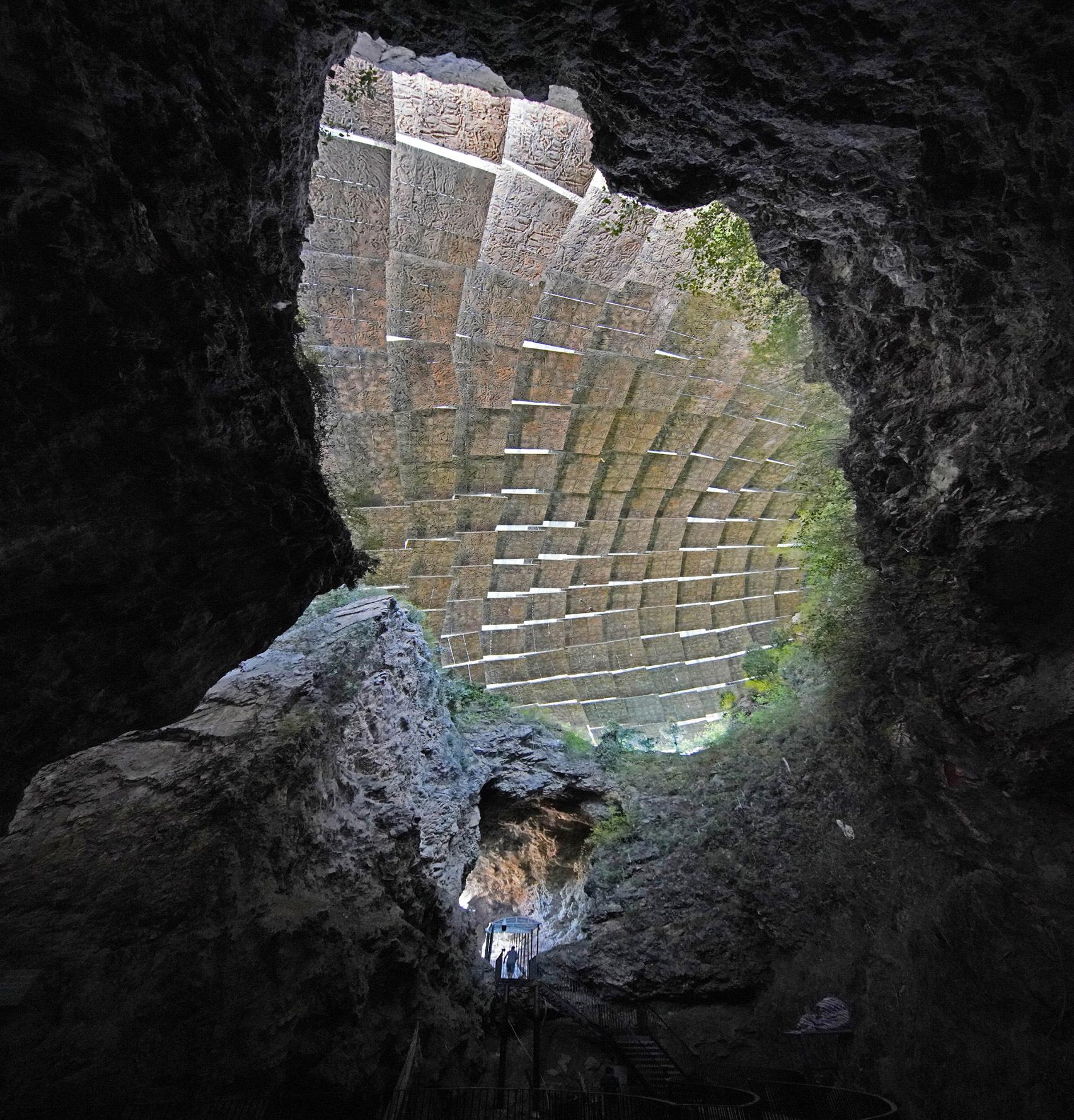 Пещера «пекинского человека» фото