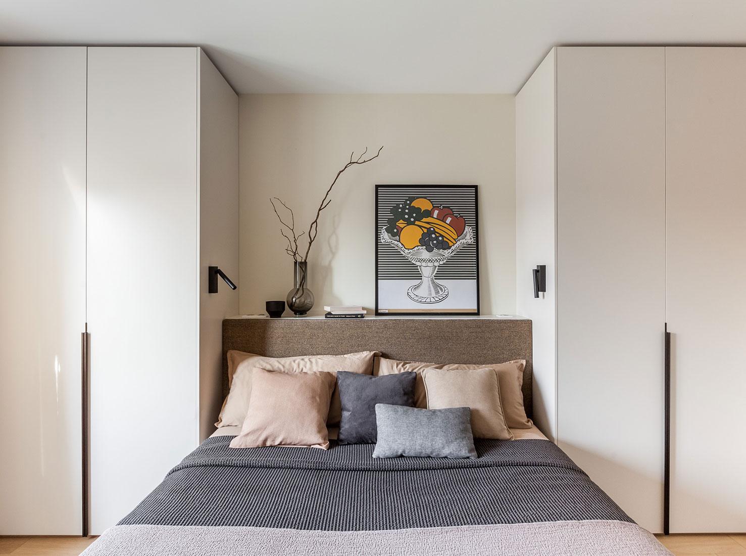 Светлая спальня фото