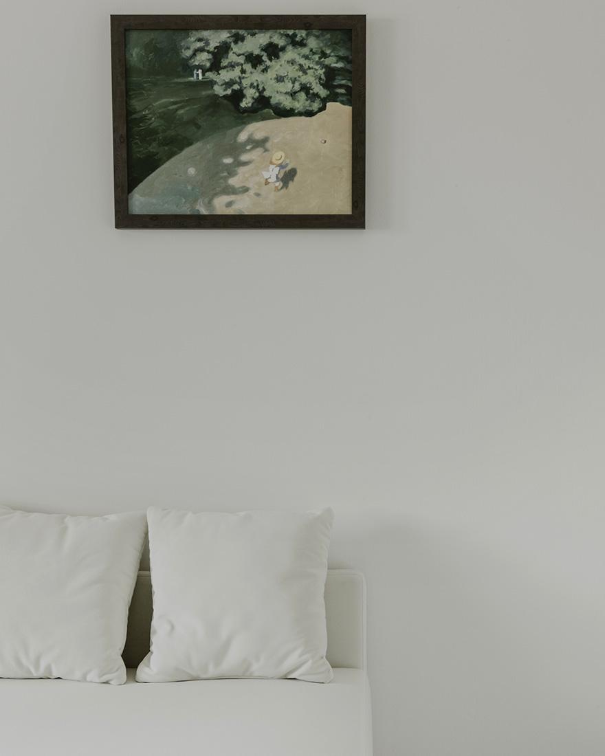 белая квартира фото