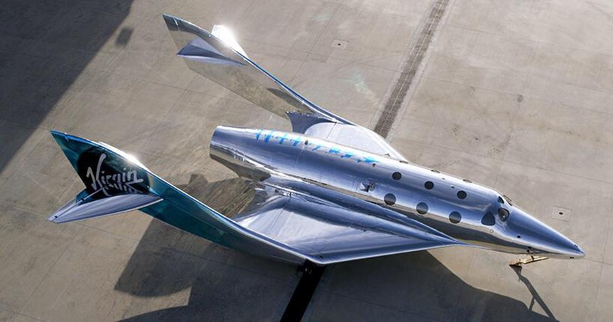 космический корабль Virgin Galactic фото