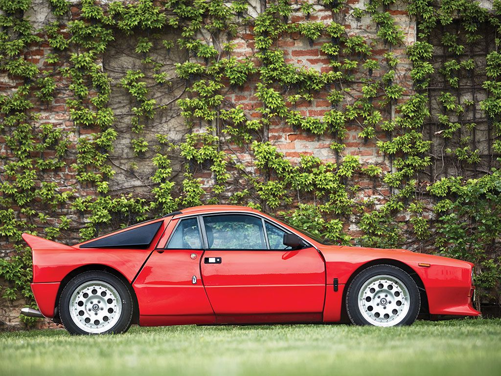 Lancia 037 фото