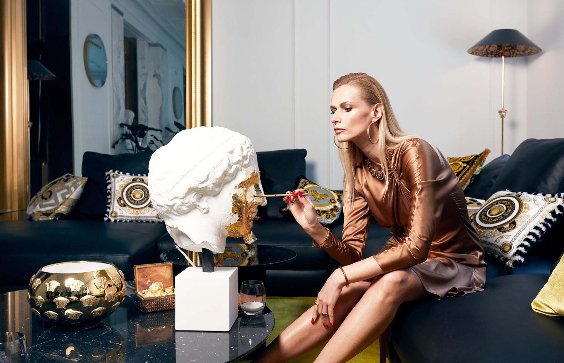 Бутик Versace Home в Милане фото