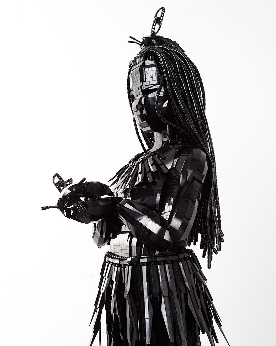 Скульптуры из лего фото