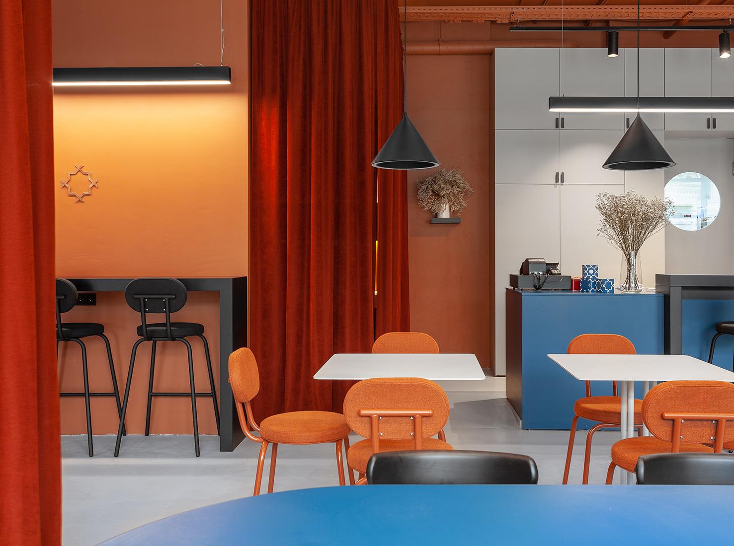 кафе Blau в Москве фото