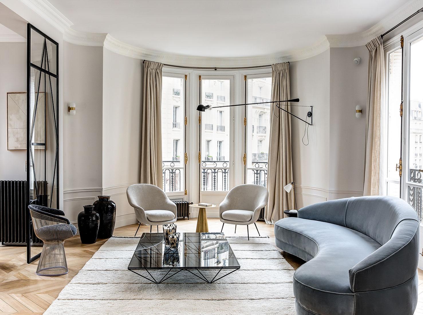 Парижская квартира фото