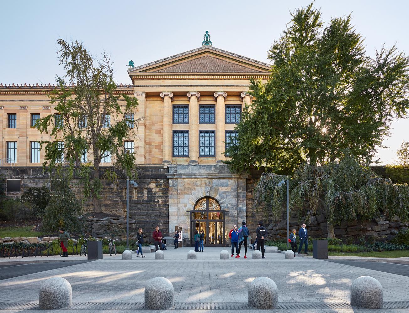 Художественный музей Филадельфии фото