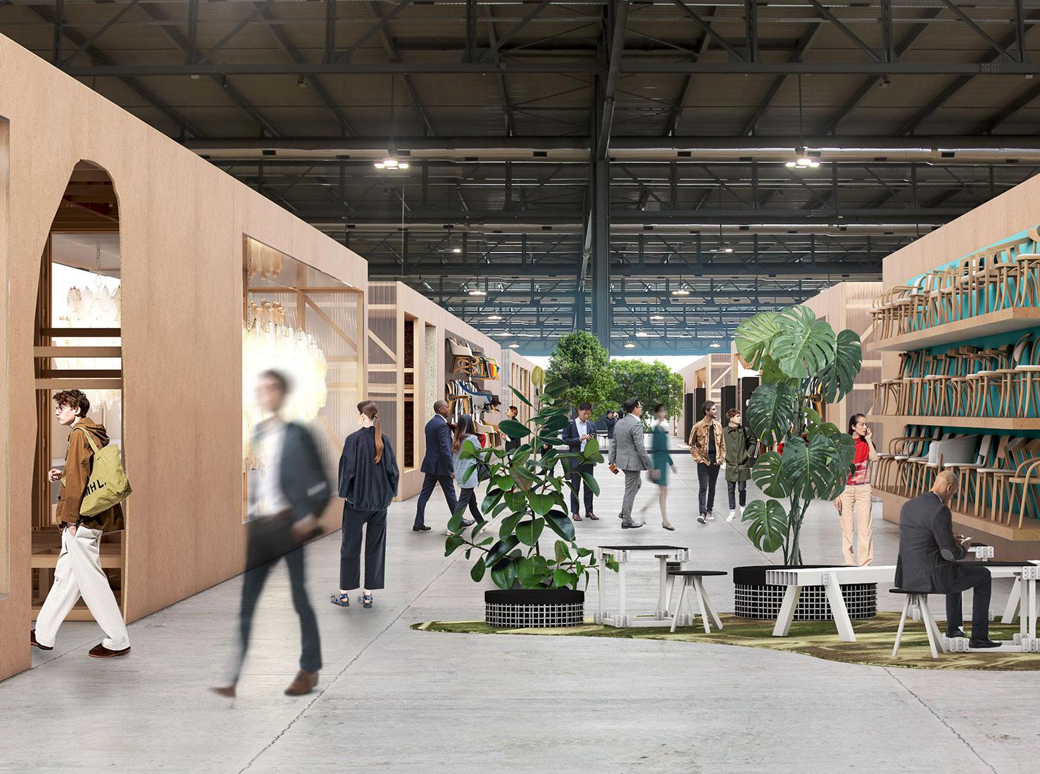 Миланская мебельная выставка фото