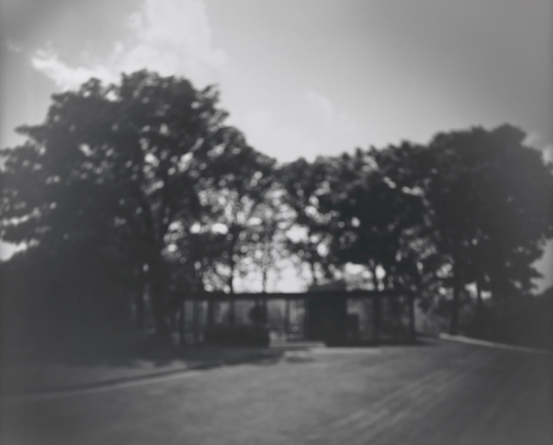 дом Филипа Джонсона фото