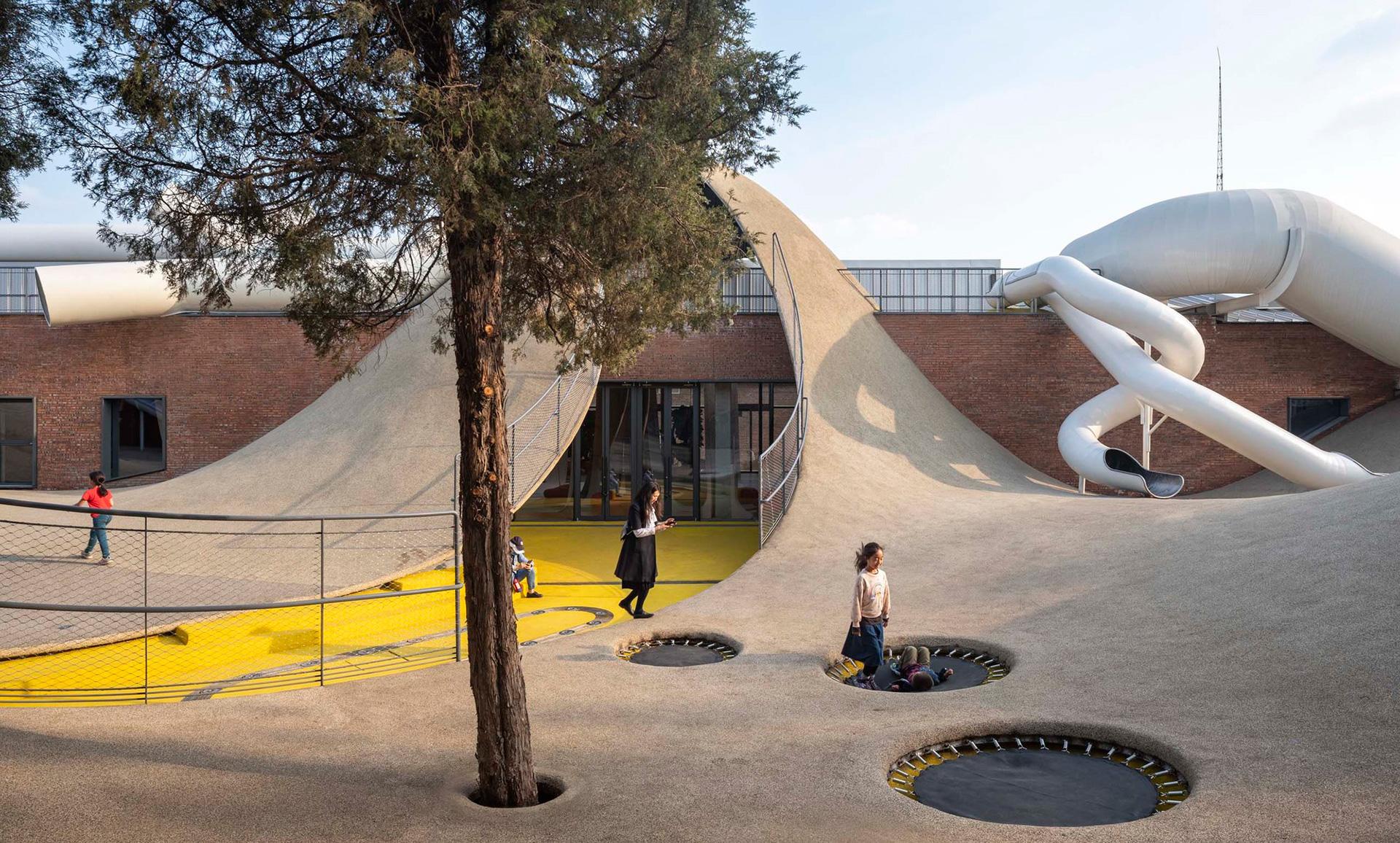 Детская площадка фото