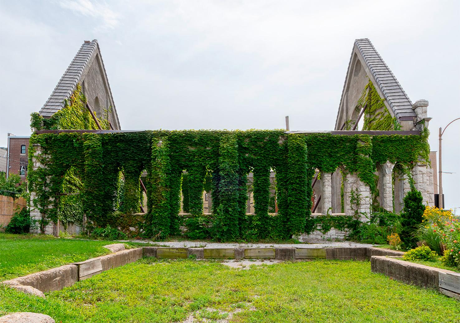 Разрушенная архитектура фото