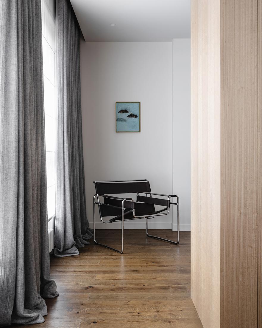 Монохромная квартира фото