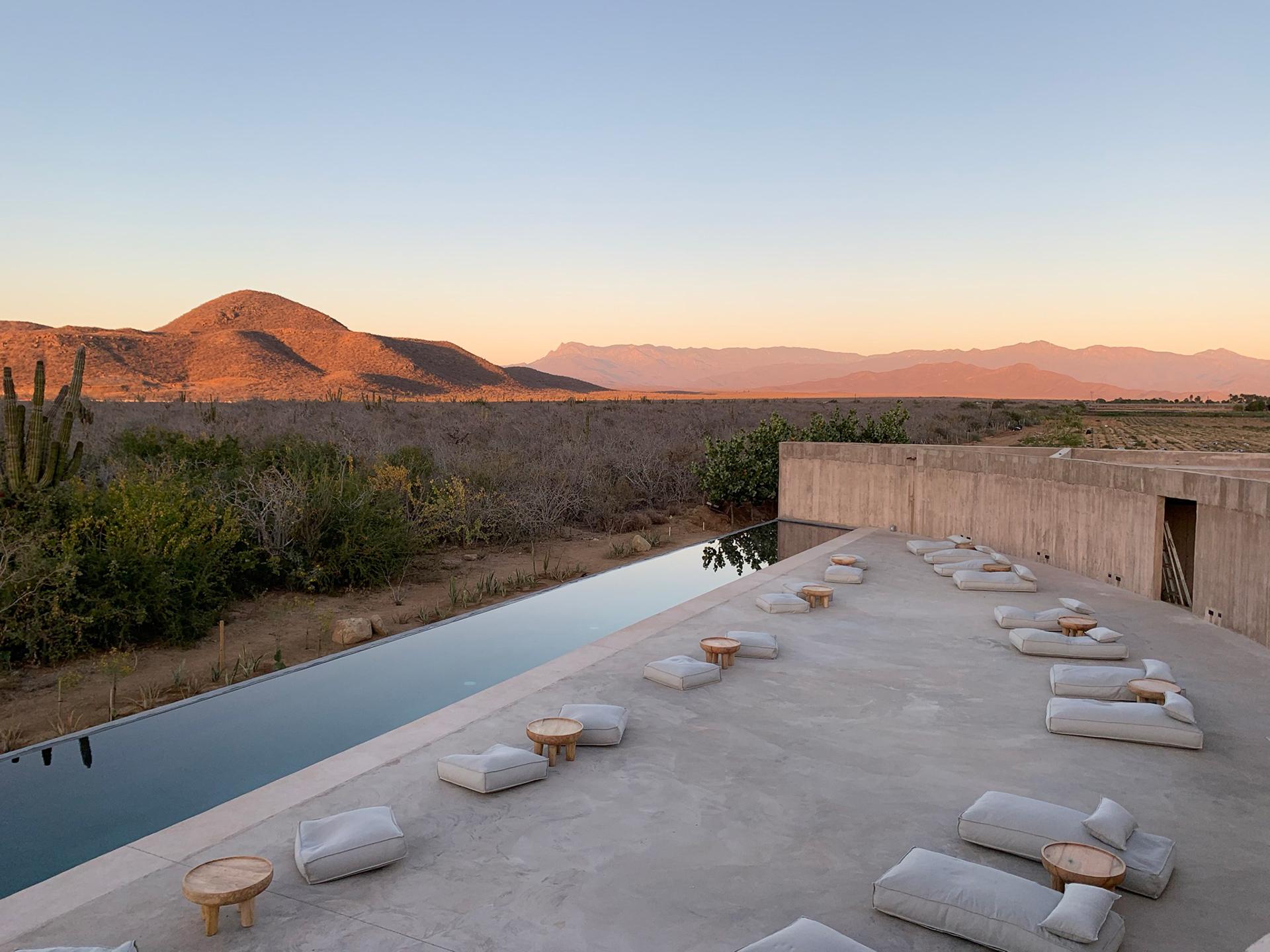 Paradero Todos Santos: курорт в мексиканской пустыне