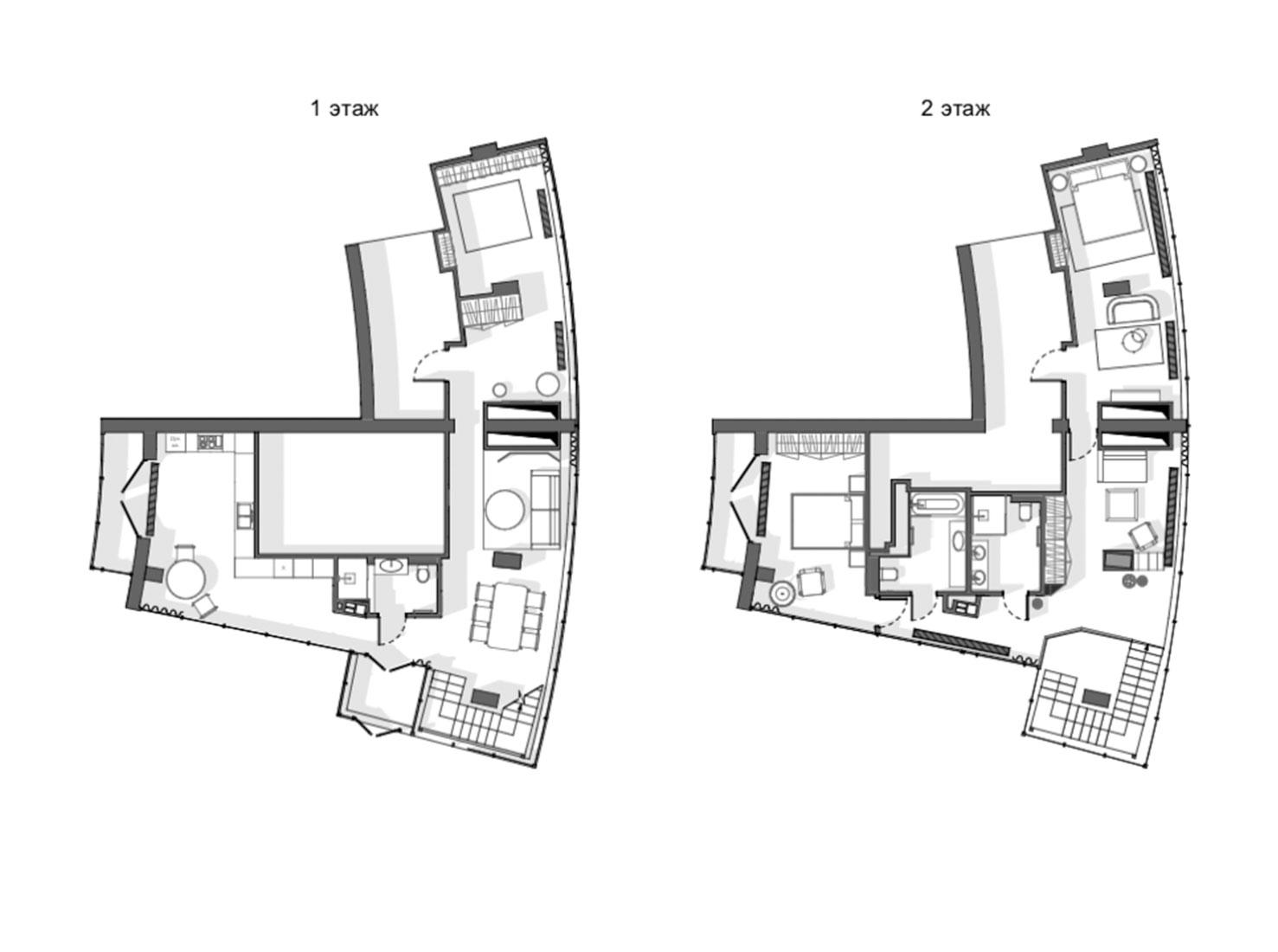 Планировка большой квартиры фото