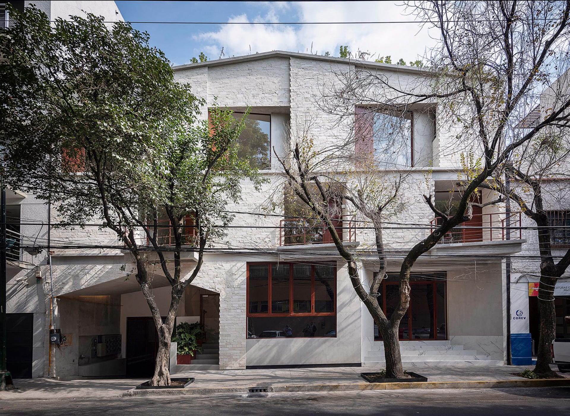 Современный жилой дом фото