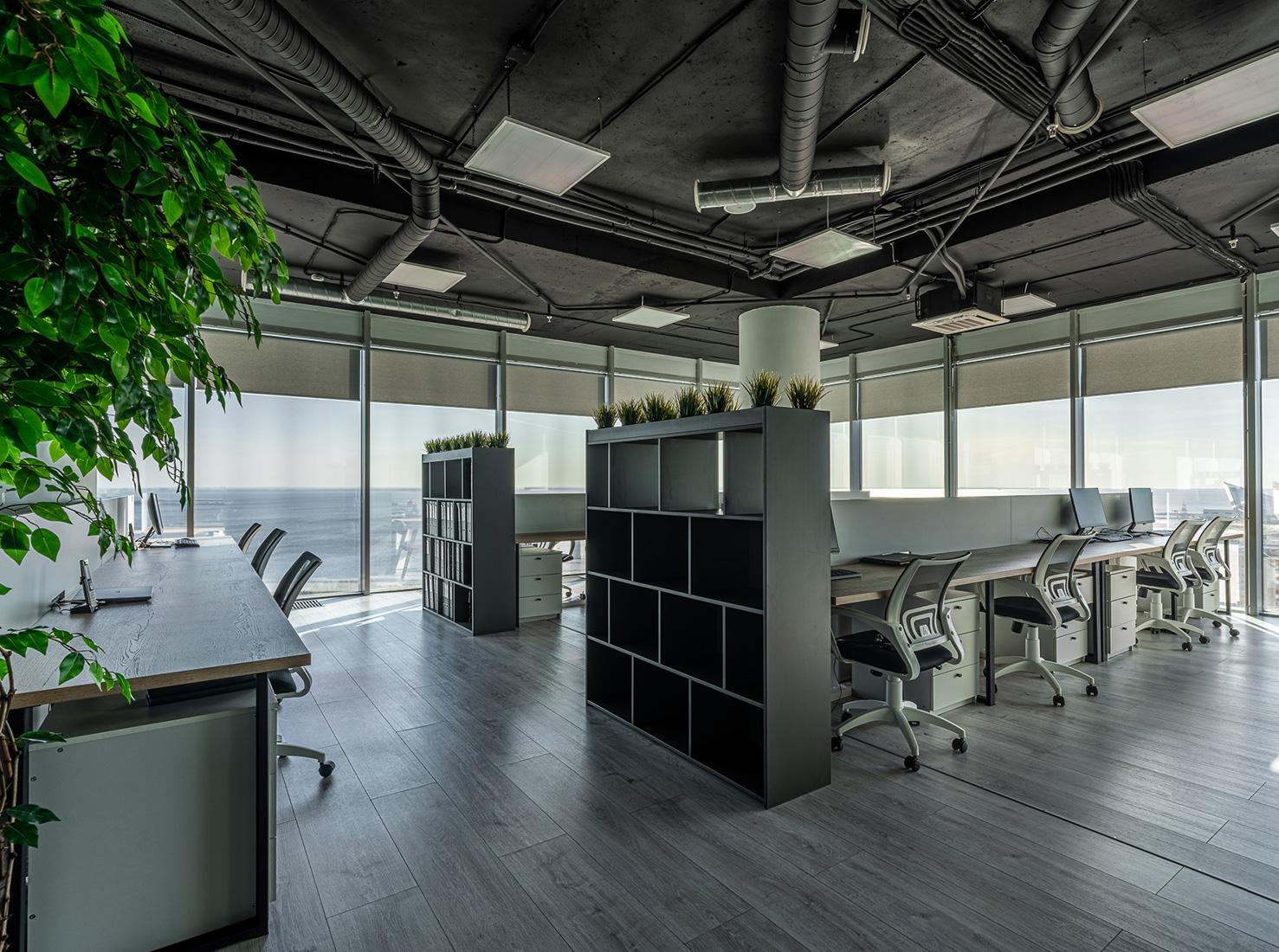 Офисный интерьер фото