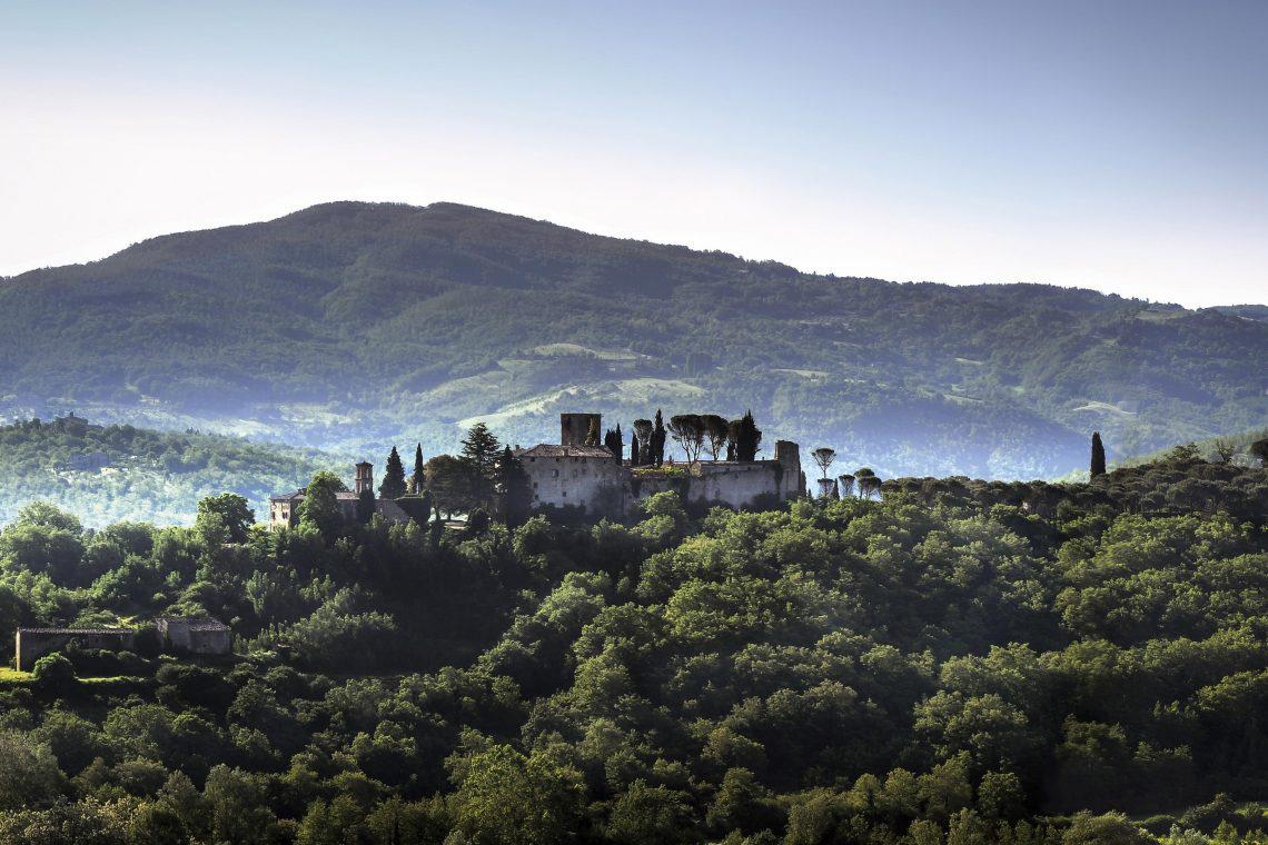 отель в итальянском замке фото