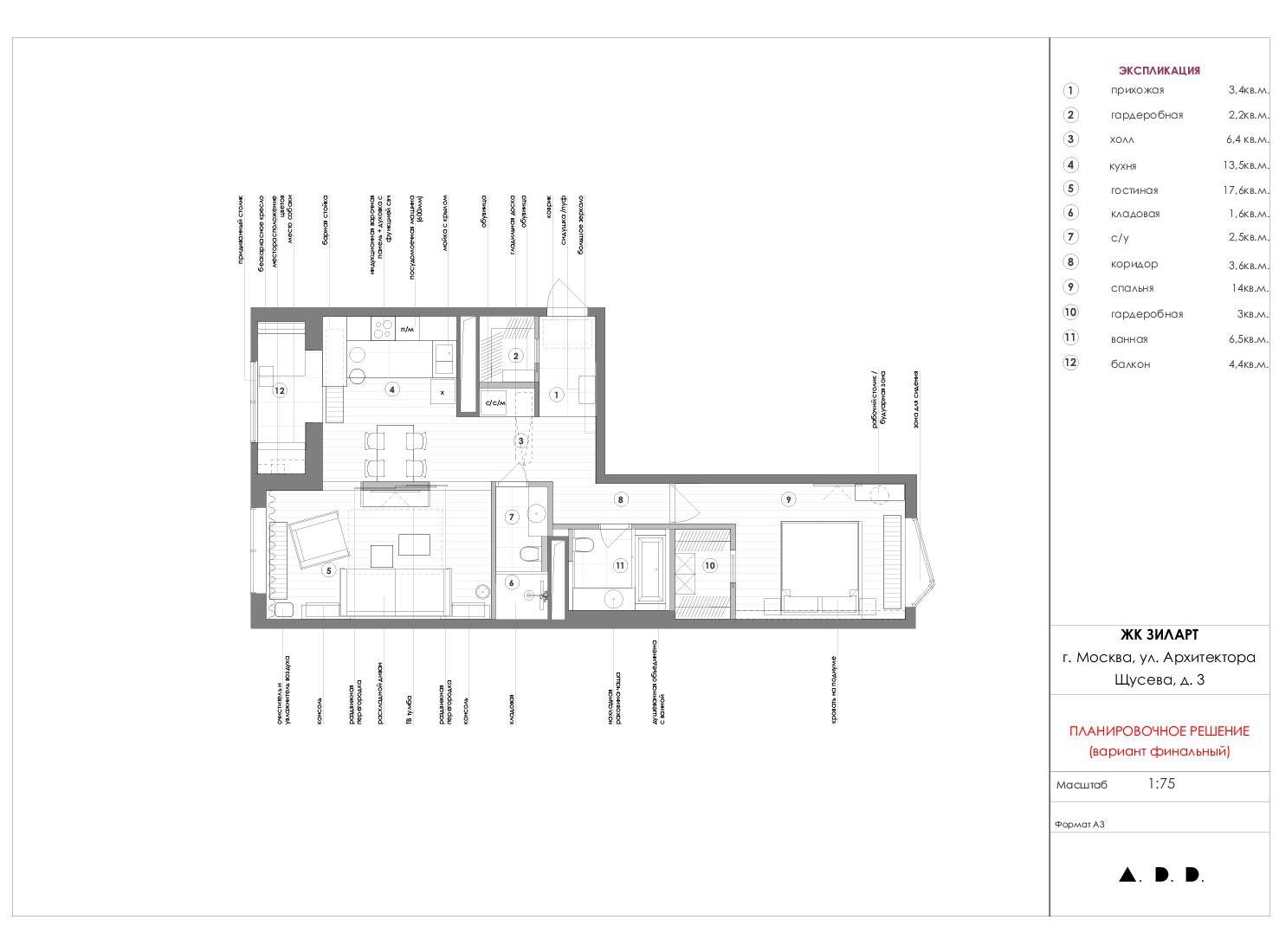Планировка квартиры 80 кв метров фото