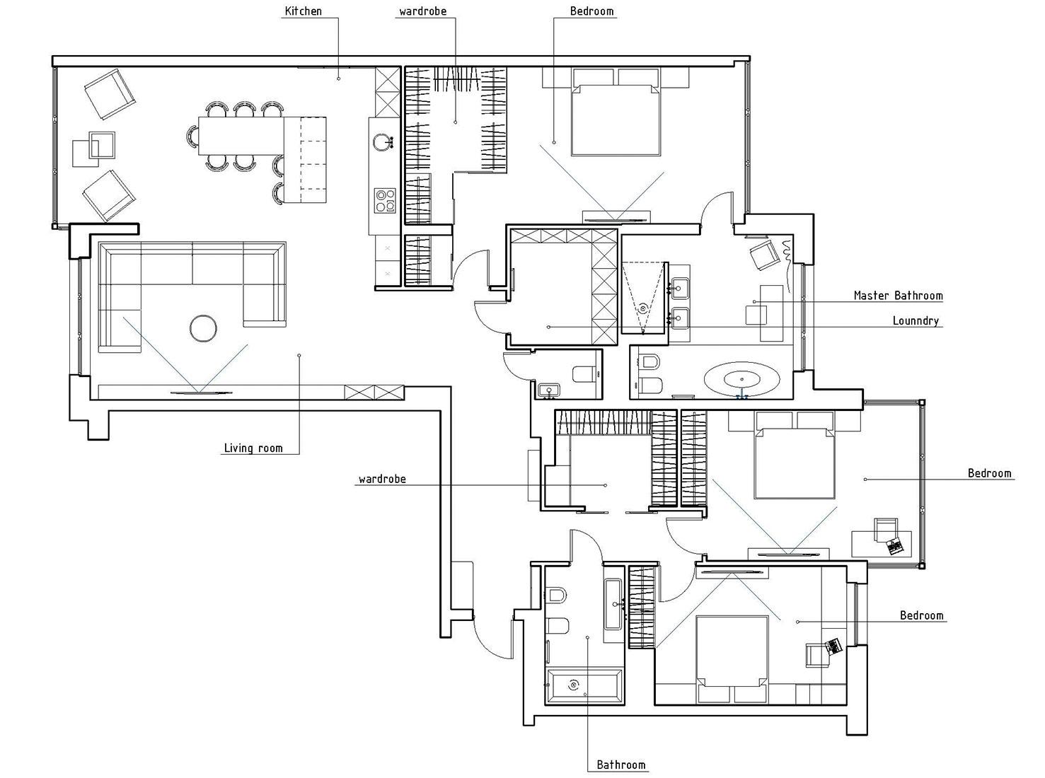 Планировка квартиры 185 кв метров фото