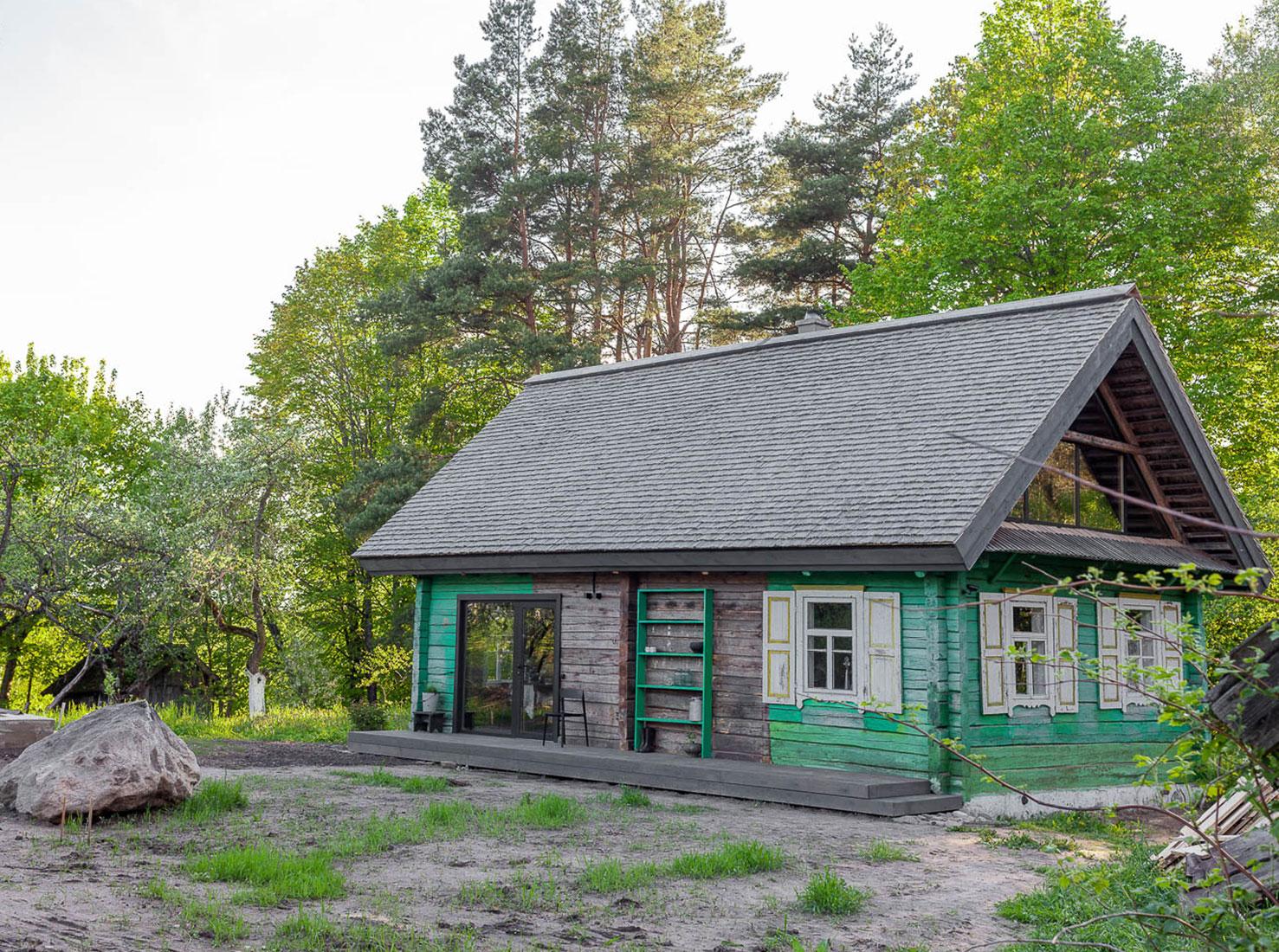 Деревенский дом фото