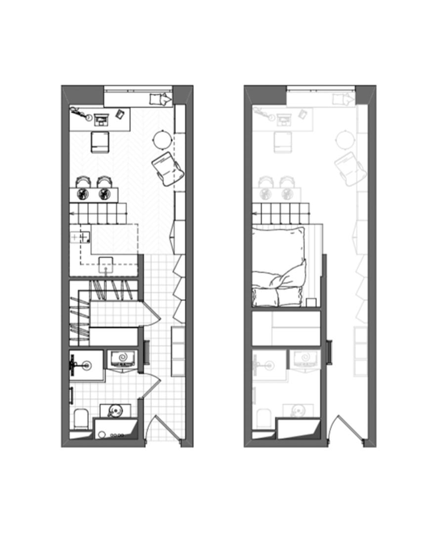 Планировка квартиры 26 кв метров фото