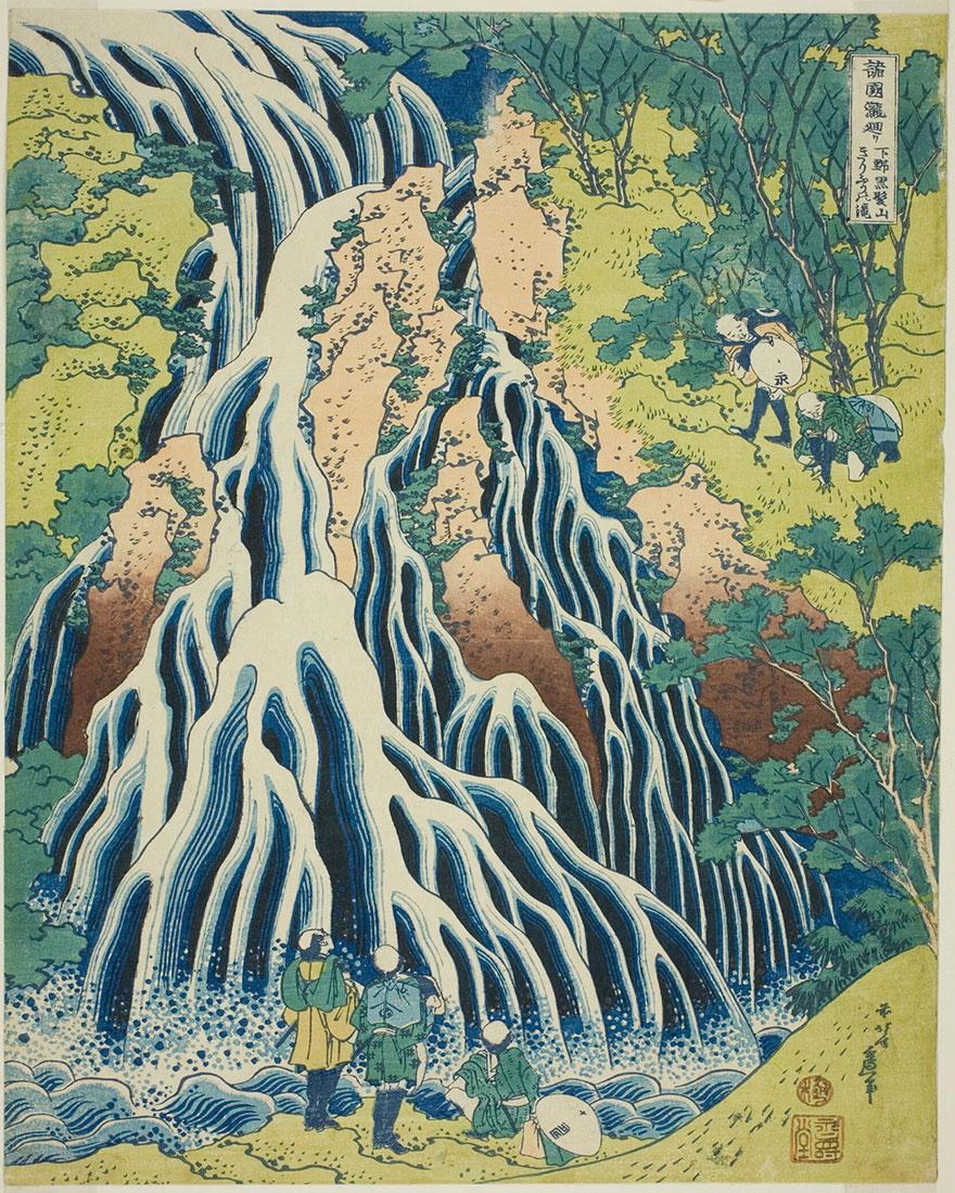 пейзажи Хокусая фото