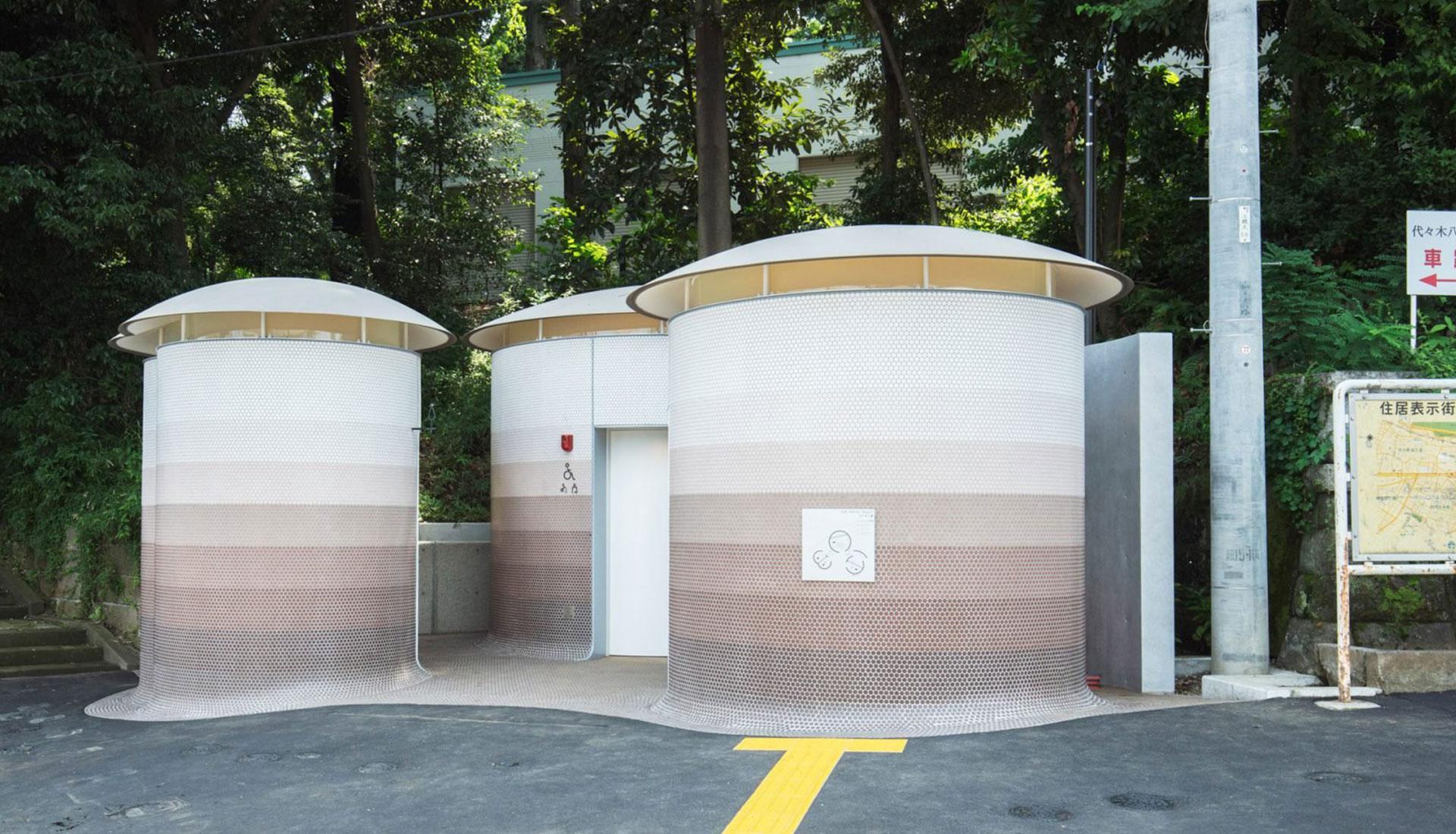 Общественный туалет в Японии фото