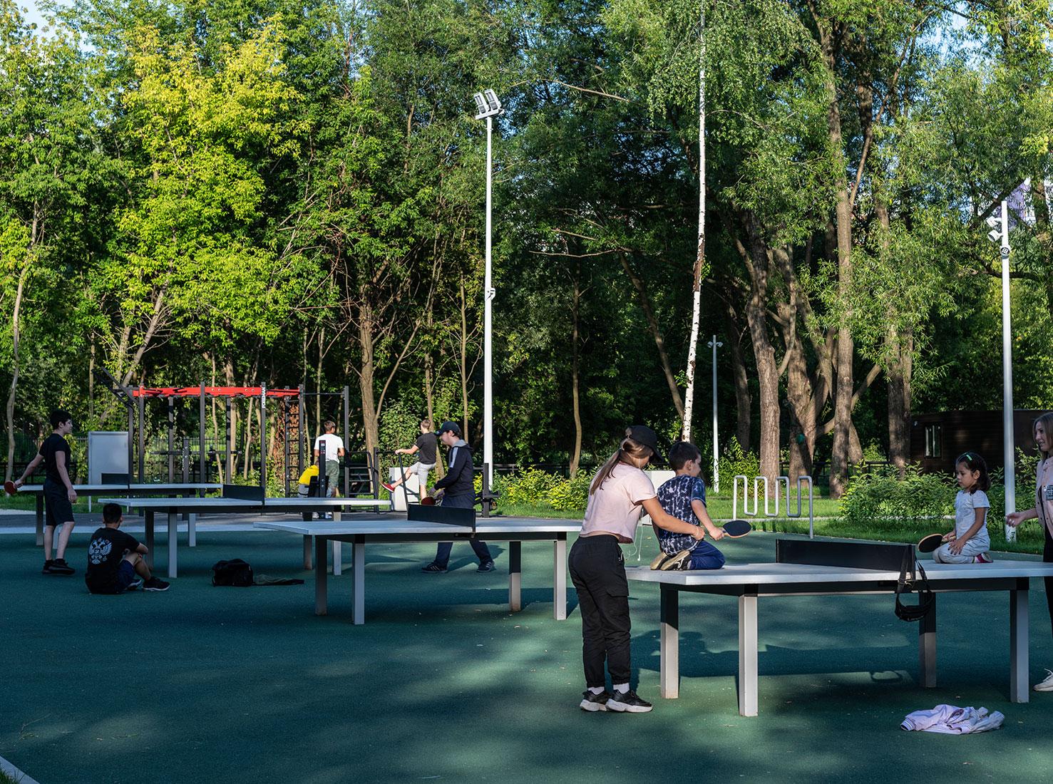 Парки в Москве фото
