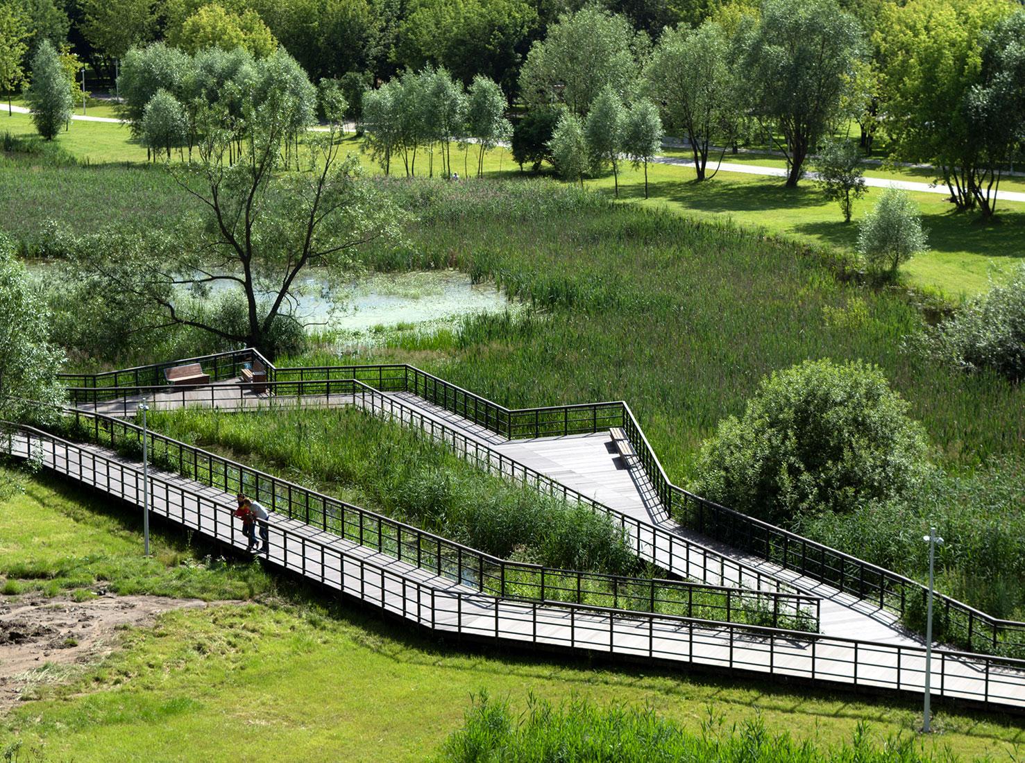 Новые парки в Москве фото