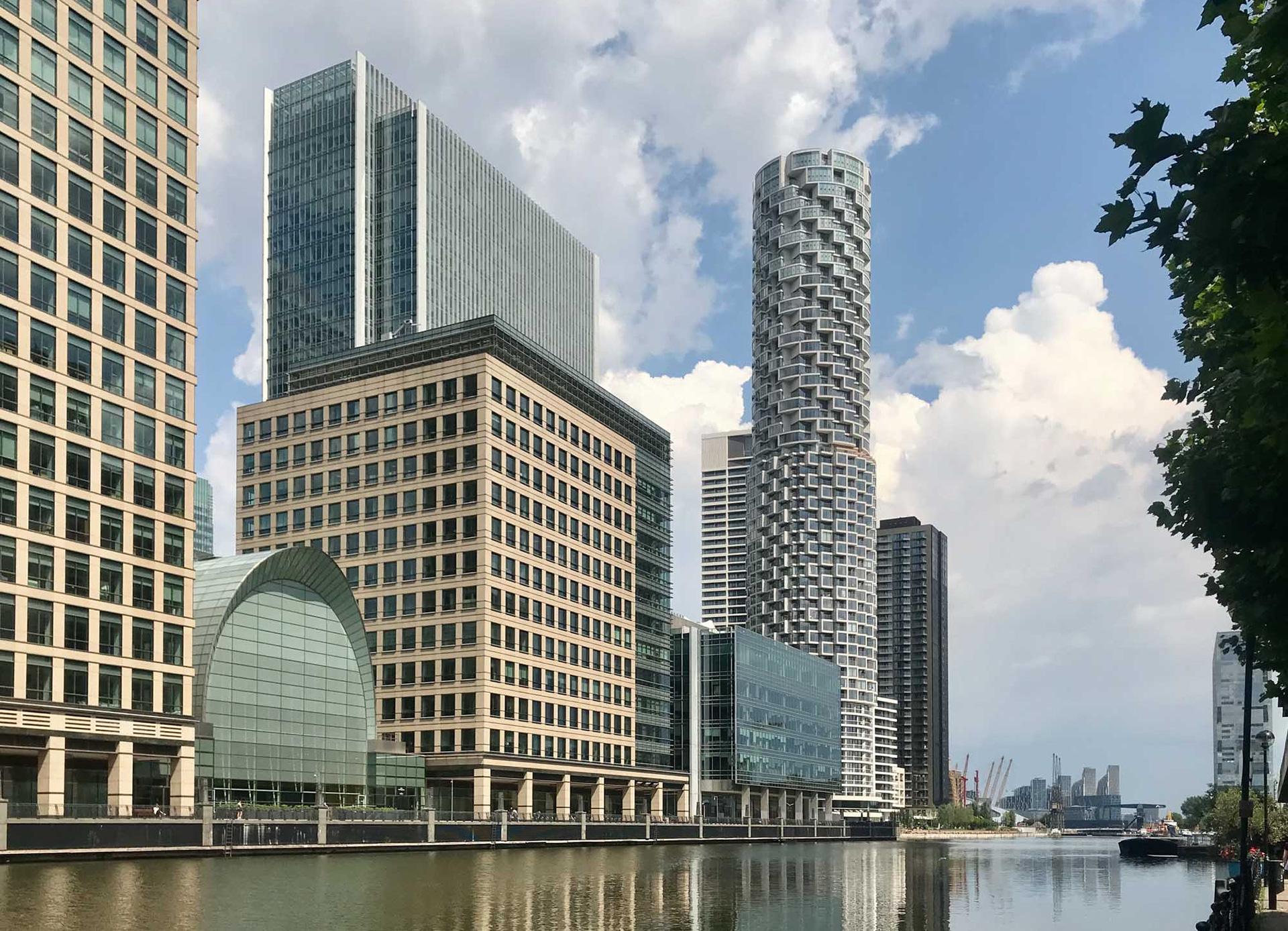 Современная архитектура в Лондоне фото