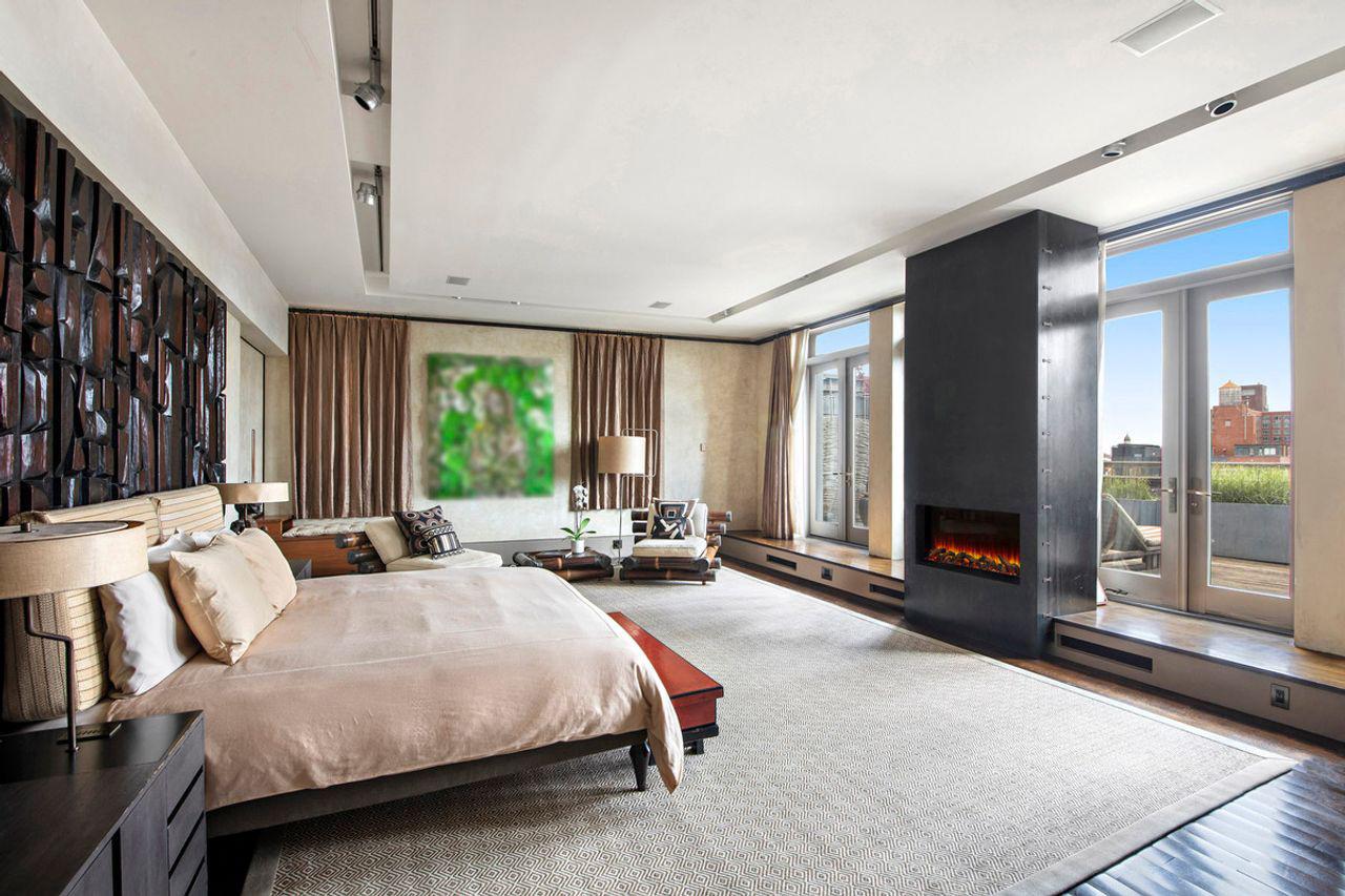 Квартира Дэвида Боуи фото