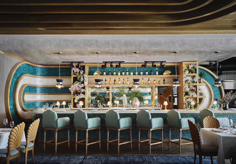 Высокий ресторанный дизайн фото