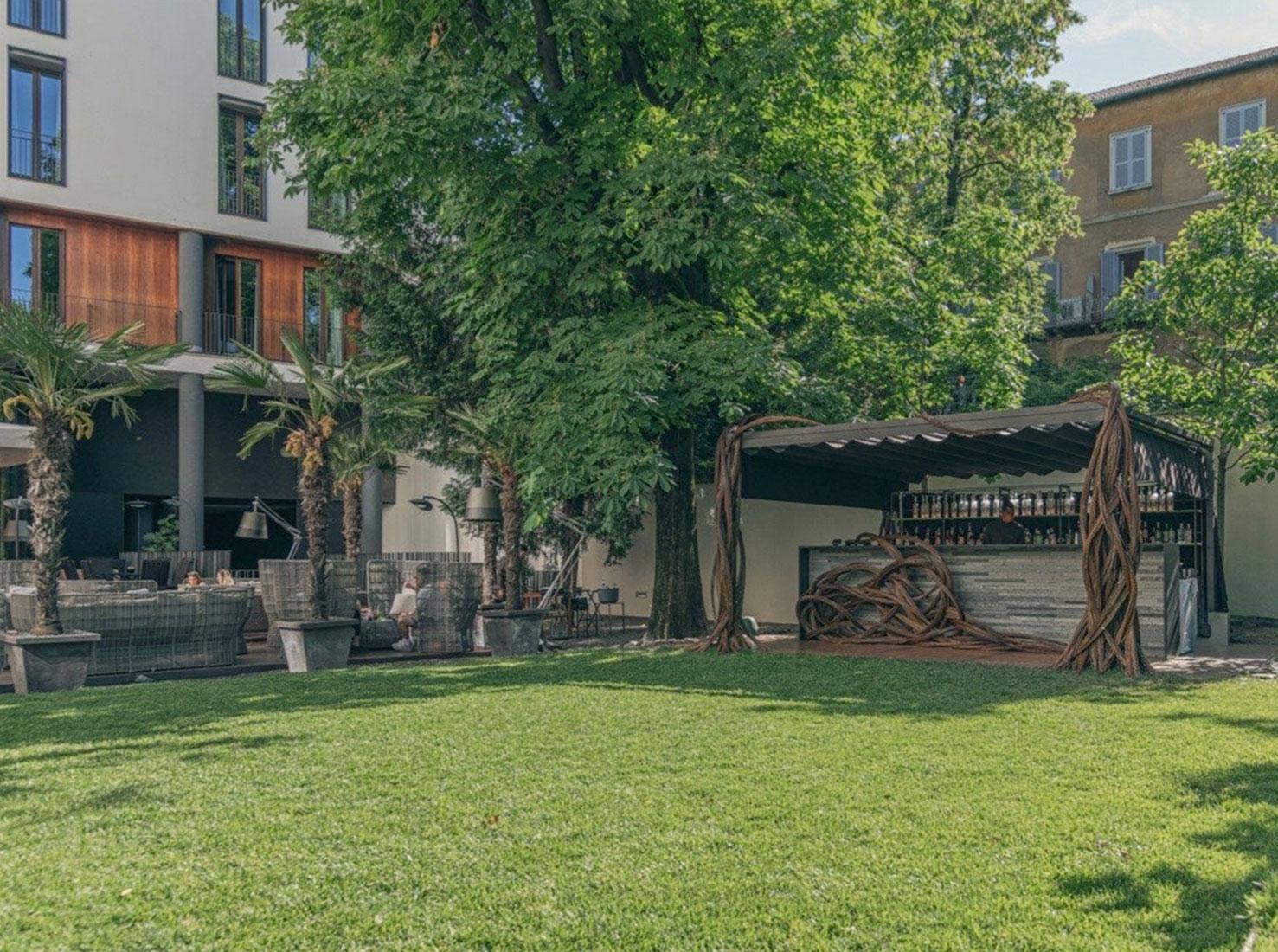 Миланский отель Bvlgari фото
