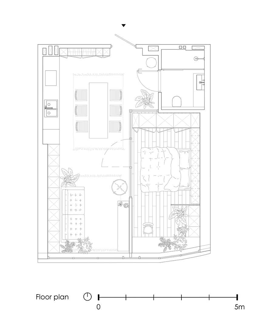 Планировка квартиры 46 кв метров фото