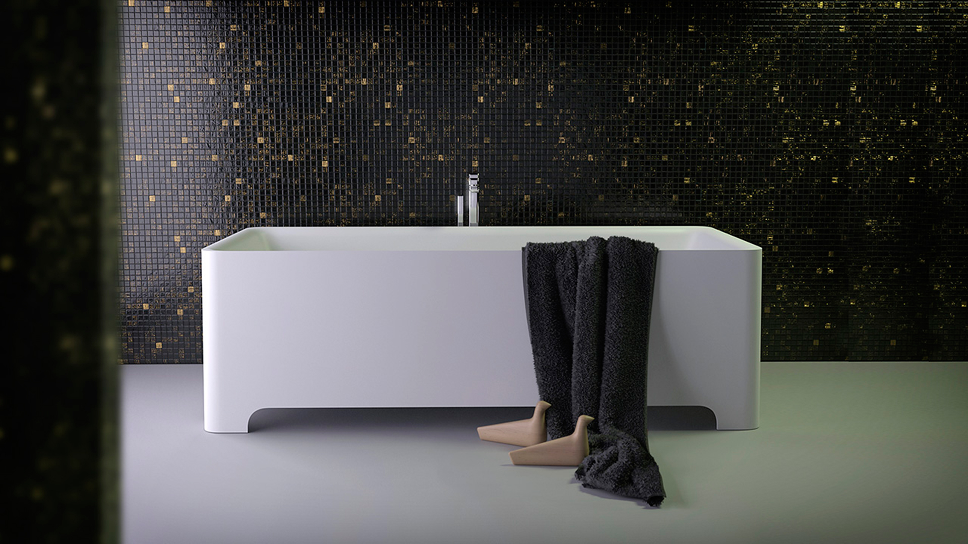 Питер Джеймисон: лаконичная коллекция для ванной комнаты