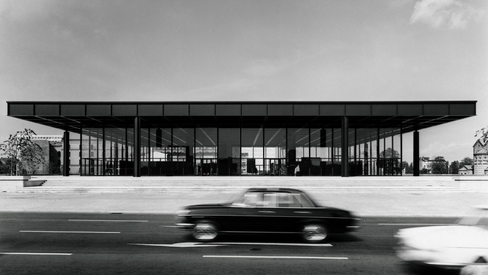 Мис ван дер Роэ архитектура фото