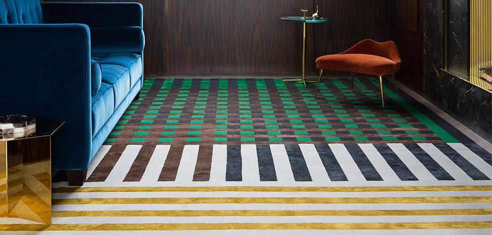 Кристофер Кейн х Rug Company: ковер как модный образ