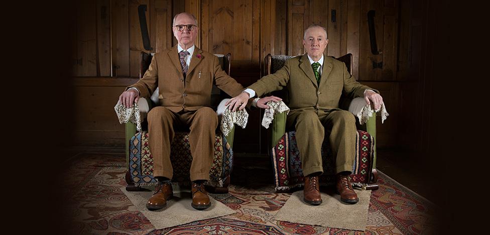 Gilbert + George: английский дом эпатажных художников