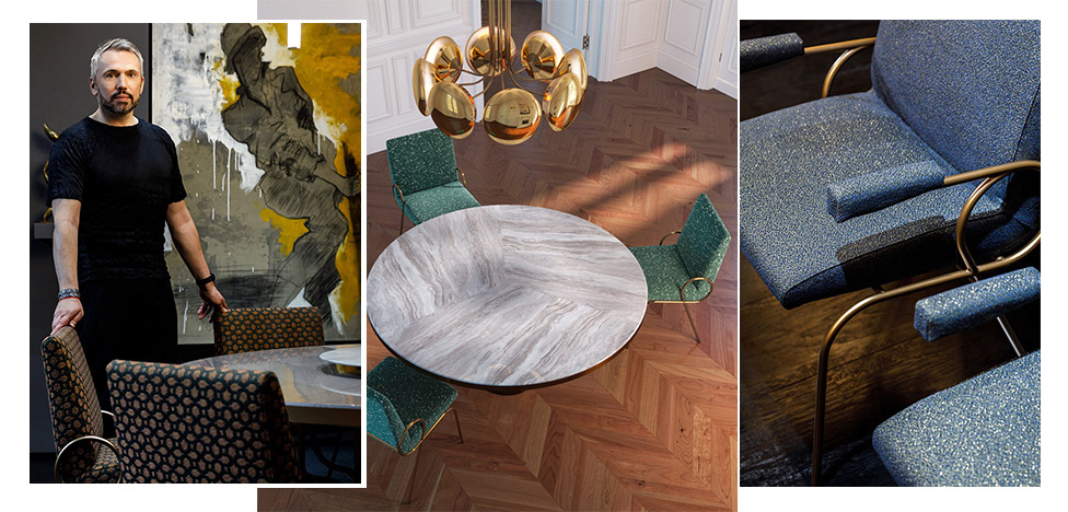 Мебельная коллекция Bloom от Майка Шилова