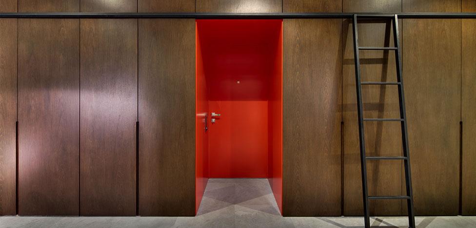 Лофт в аренду: проект студии B4.Team architects
