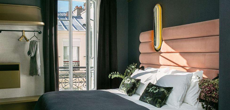Отель La Planque в Париже по проекту Desjeux Delaye
