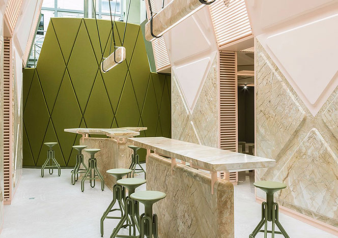 Дидье Фаустино: дизайн-бар в Генте