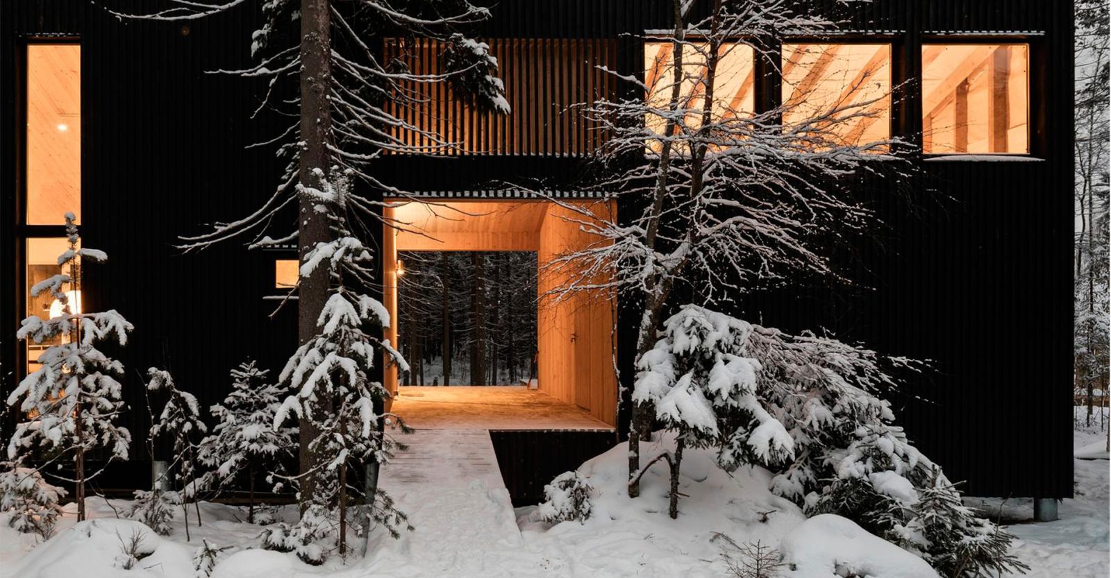 Архитекторы «Хвоя»: дом на краю леса