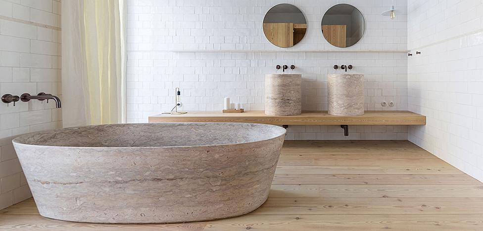 Ванные комнаты в 10 роскошных отелях