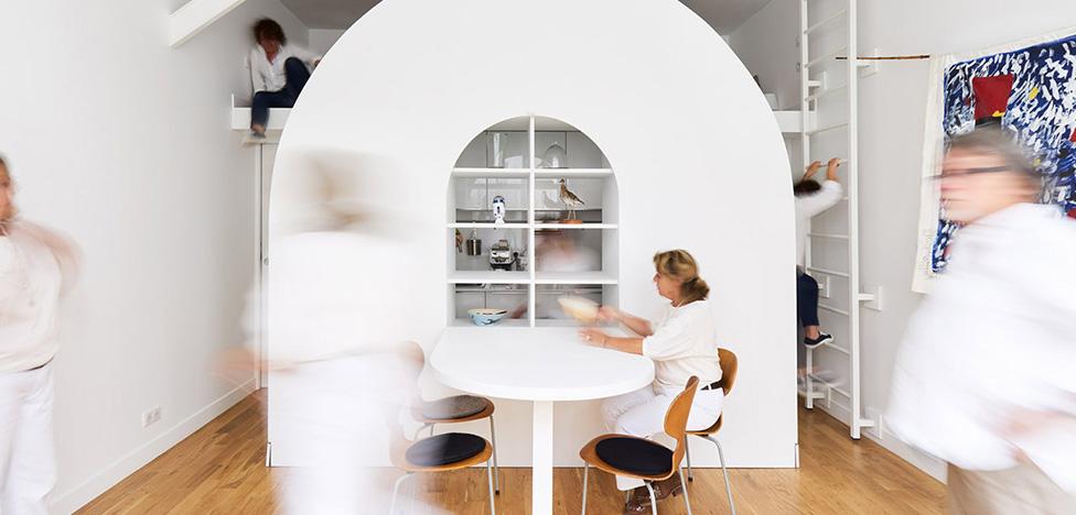 Freaks Architecture: 30 кв. метров для архитекторов-пенсионеров