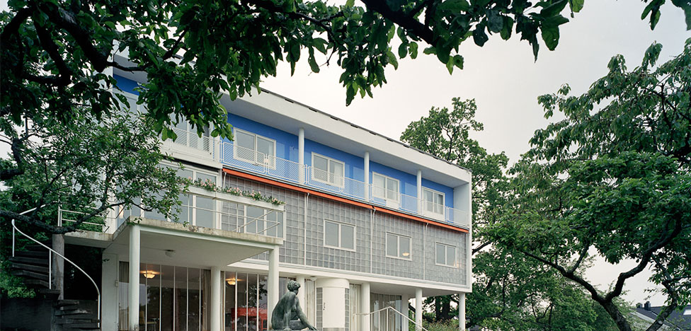 Ле Корбюзье в Осло на вилле Stenersen